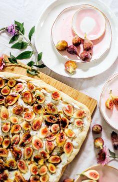 Garden to Table: Fig & Ricotta Flatbread – Suite One Studio