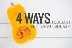 Roasted butternut squash makes an easy, healthy fall side dish. The hardest part is cutting it! Here are 4 different ways to roast butternut squash. Veggie Recipes, Vegetarian Recipes, Butternut Squash Fries, Cooking Tips, Cooking Recipes, Fruits And Veggies, Vegetables, Vegetable Dishes, Food Hacks