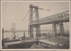Construction of the Williamsburg Bridge, New York, 1896-1903 | Retronaut