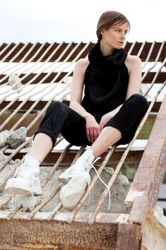 """Website of Vienna-based fashion design label """"ruins of modernity"""" / Maria Steiner Minimalist Fashion, Overalls, Classic, Photography, Fashion Design, Women, Women's, Jumpsuits, Classical Music"""