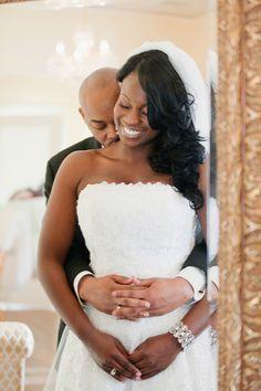 Bride African American Wedding | shaquatron-african-american-brides013