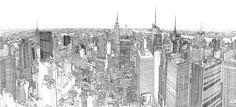 Galería - Video: dibujo que hace renacer a Nueva York por Patrick Vale - 5