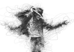 Expressive Ballpoint Pen Drawings by Malaysian Artist Vince Low