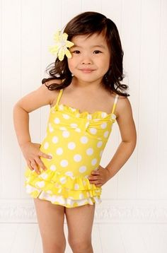 Beach Rey's Swim suit Omg this is the perfect swim suit :-) yellow and everything. .. too cute