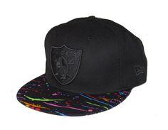 26febf6b7dc4 Oakland Raiders Black  Multicolor New Era Snapback