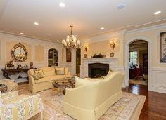Formal Living Room with Gas Fireplace. #DonnamarieChaimanis #Muttontown #GoldCoast #GoldCoastRealtor #iSellHomes #MillionDollarListings #NassauCounty #LongIsland #Realtor #RealEstate #LuxuryHomes #LuxuryListings #DreamHome #DreamHouse