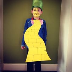 Full marks to the boy who came as the Yellow Brick Road. | 23 Kids Dressed As Their Favourite Characters From Books