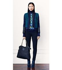 I haven't seen this Tory Burch in person but it looks like it might be a great Blue Autumn Navy.
