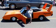 This 1/2 scale Plymouth Superbird is a fully functional car The cutest, most awesome, one of a kind...
