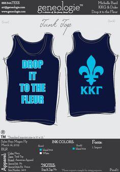 Drop it to the fleur, KKG tank