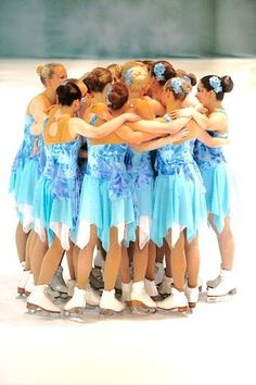 My Synchronized Skating Team - Ice Diamonds <3