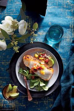 The classic preparation for veal or chicken gets an elegant update here. Delicate flounder cooks with a crisp crust in three minutes, the...