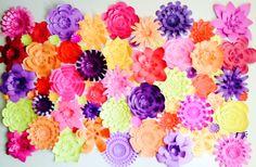 6x5 ft paper flower decor