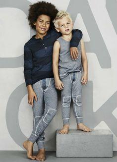 David Beckham presenta su primera colección de ropa interior para niños en H