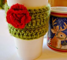 SALE Coffee Cozy Cup Cozy Home and Living by CinnamonStixSundries