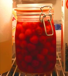 40 Home Made Gifts from the Kitchen maraschino cherries canning, homemade food gifts, jar, homemad maraschino, homemade foods, homemade gifts, clarks, cocktail, diy christmas gifts