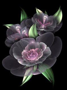 Flores Discover Crystal Bouquet Canvas Print / Canvas Art by Karla White Cristal Bouquet Toile Imprimer / Toile par Karla Blanc Fractal Images, Fractal Art, Crystal Bouquet, Fractal Design, Art Moderne, Art Abstrait, Exotic Flowers, Flower Wallpaper, Flower Art