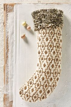 Moritz Sequined Stocking   Pinned by topista.com