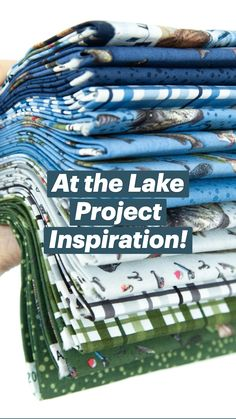 At the Lake Project Inspiration!