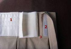 Resultado de imagen para como medir para hacer cortinas