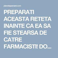PREPARATI ACEASTA RETETA INAINTE CA EA SA FIE STEARSA DE CATRE FARMACISTI! DOAR 4 LINGURI DIN ACEST AMESTEC SI PUTETI SPUNE ADIO PENTRU TOTDEAUNA HIPERTENSIUNII ARTERIALE SI ARTERELOR INFUNDATE! Health Fitness, Healthy, Pandora, Cots, Therapy, Health, Fitness, Health And Fitness
