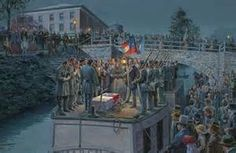 On May the body of Confederate Gen. Thomas 'Stonewall' Jackson passed through Lynchburg on its way to Lexington. Pictures Of Soldiers, Action Pictures, Civil War Art, Stonewall Jackson, Military Art, Military Service, American Civil War, Going Home, Civilization