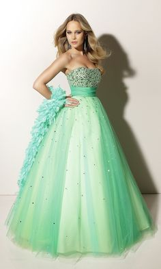 Gorgeous Seafoam Green Prom Dress. | Seafoam,Mint,Aqua,Sage ...