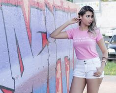 Blog da Andy » Blog Archive » Look da Andy | Tshirt pink