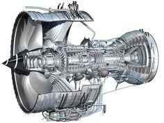 Boeing 787 Dreamliner cutaway of it's Rolls Royce engine Drones, Rocket Engine, Jet Engine, Aviation Mechanic, Civil Aviation, Rolls Royce Engines, Boeing 787 Dreamliner, Steam Turbine, Aircraft Maintenance