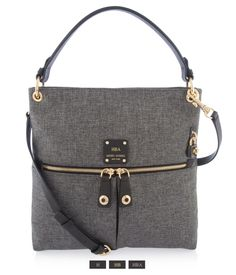 Jetsetter Canvas Crossbody | New Arrivals | Henri Bendel $228.00