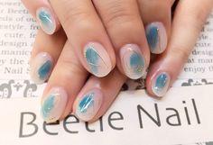 Nail Art - Beetle Nail : 八幡|ワイヤーアート #ネイル #ビートル近江八幡 #ビートルネイル #ネイル近江八幡 #ワイヤーネイル #ワイヤーアート