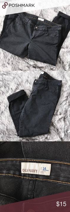 Old Navy Skinny Jeans 💕 in perfect condition 💕 regular  💕 faded black effect  🌸 no trades please 🌸 🌸 accepting offers 🌸 🌸 bundle for a better deal! 🌸 Old Navy Jeans Skinny