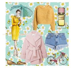 """Rainy day."" by doris-popovic ❤ liked on Polyvore featuring Carven, Levi's, Dolce&Gabbana, H&M and Pierre Hardy"