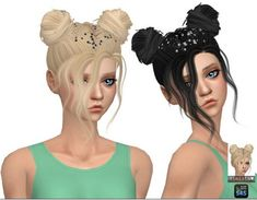 Simista: Nevaeh Hairstyle Retexture • Sims 4 Downloads