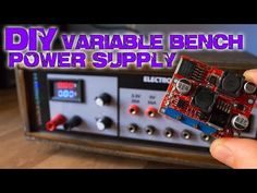 DIY variable bench power supply (less than 10$) - YouTube