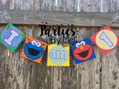 Sesame Street High Chair Banner-Sesame Street 1st Birthday-High Chair Banner-Sesame Street Birthday-Sesame street Birthday Banner by PartiesbyMel on Etsy https://www.etsy.com/listing/513068196/sesame-street-high-chair-banner-sesame