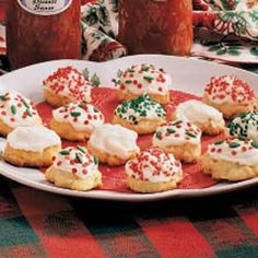Italian Christmas Cookies (aka Ricotta Cookies)--these are more like little cakes than cookies, but they are delicious.