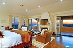 Talk about a master suite -- this room in Josh Altman's Kimridge listing is fit for the king of the world!