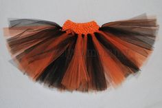 Hey, I found this really awesome Etsy listing at https://www.etsy.com/listing/106718276/halloween-orange-and-black-tulle-tutu