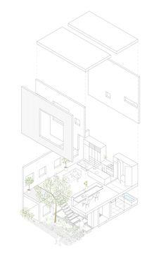 Frame / UID Architects Axonométrica