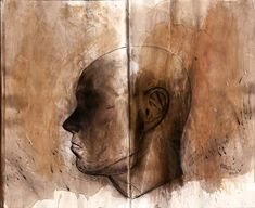 "89 tykkäystä, 1 kommenttia - Juha Korhonen (@junkohanhero) Instagramissa: ""Fear of darkness by  #junkohanhero 6/8 2020  #sketches #watercolorpencils #instantcoffee…"""