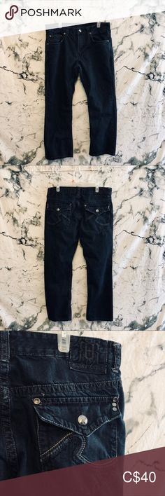 Shop Men's Request Blue size 36 Jeans at a discounted price at Poshmark. In perfect condition. Sold by alabasterposh. Dark Wash Jeans Mens, Dark Denim, Colored Denim, Plus Fashion, Fashion Tips, Fashion Trends, Im Not Perfect, Man Shop, Outfits