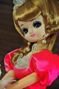 Vtg Japanese Dolls 1960's Big Eye Pose Kawaii Girl Ningyo RARE NR Pink Dress | eBay