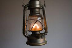 Vintage Gas Lantern German Gas Lamp by TheThingsThatWere on Etsy, $52.00