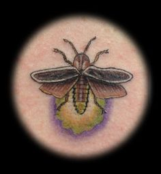 I'd like a firefly tattoo. My brother and I have good memories with fireflies as little kids.