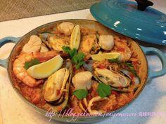 鬼嫁料理手帳: 西班牙海鮮飯(附食譜)
