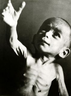 A Greek child during 'The Great Famine', Athens, Greece, Second World War, 1941-44 -  Voula Papaioannou