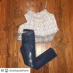 Loving this #ootd available on the website! #shopbluetique #newarrivals