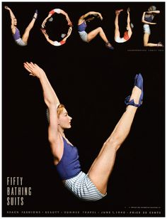 Lisa Fonssagrives Photographed by Horst P. Horst 1940 Vogue Cover