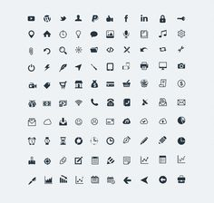 100 high-resolution Vector Icons